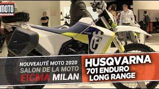 HUSQVARNA 701 LONG RANGE LR - Nouveautés moto 2020 - EICMA