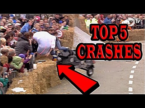 TOP 5 Crashes Red Bull Soapbox Race 2017 (TOP TWITCH FAIL)