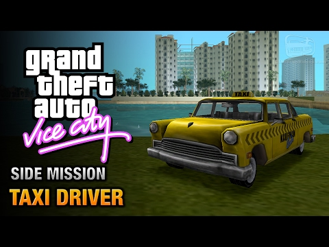 GTA Vice City - Taxi Driver [Point A to Point B Trophy / Achievement]