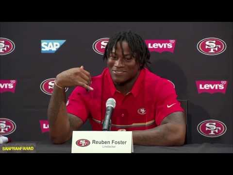 "Reuben Foster: ""I Hung Up On The Saints"" 