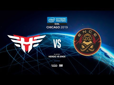 Heroic Vs ENCE - IEM Chicago 2019 - Map2 - De_nuke [pch3lkin & Craggy]