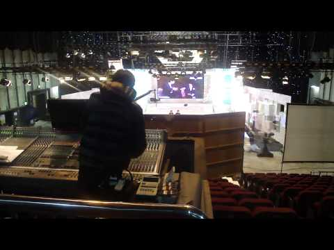 Inside a Studio at KBS
