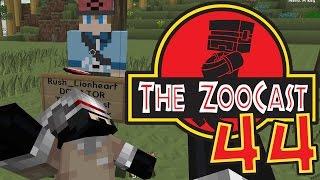 Minecraft Jurassic Park #44 Where's Lewbot? [ZooCast]