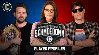 Movie Trivia Schmoedown Player Profiles: Jason Inman, Clarke Wolfe, Dan Murrell