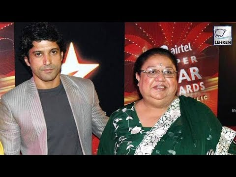 When Farhan Akhtar's Mother Threatened Him To Leave The House | Lehren Diaries Mp3