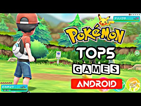 Top 5 Best Pokemon Games For Android 2019 | High Graphics & Amazing Story 2019