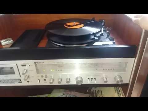 EQUIPO TOCADISCOS NATIONAL PANASONIC SS-14000, TOCADISCO, 33 RPM