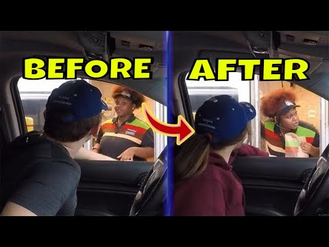 Person Swap Drive Thru Prank  **The Best Ever**
