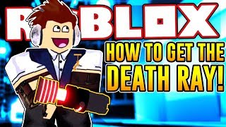 HOW TO GET THE DEATH RAY IN MAD CITY   Roblox
