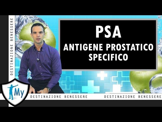 test psa di infezione della prostata