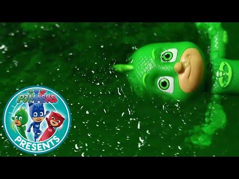 PJ Masks Creations - Toy Episode Sludge Trouble | Cartoons for Children #49