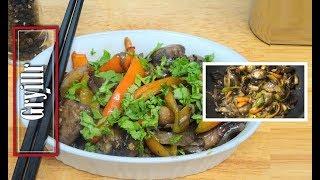 Mushroom Pepper Fry Quick easy recipe