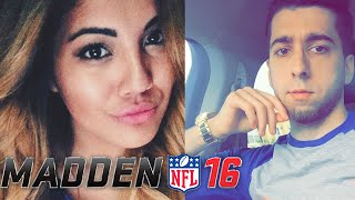 Boyfriend vs Girlfriend Challenge - Madden 16 Draft Champions!!!!!!