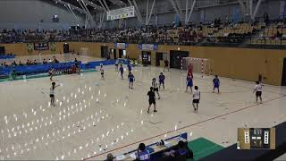 2018IH 女子ハンドボール 3回戦 大分高校(大分県)vs 佼成女子(東京都)