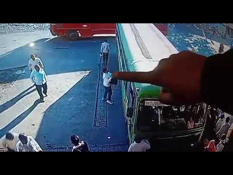 Be aware of thieves | MSRTC | Planned robbery caught on CCTV