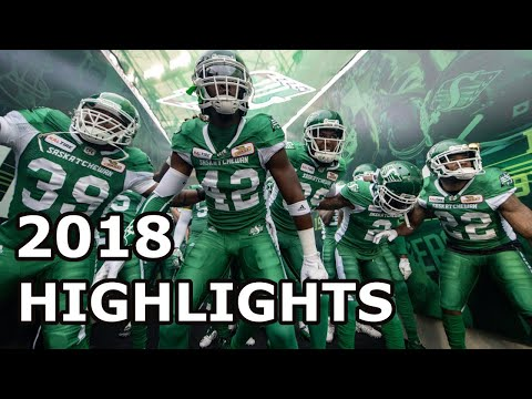 2018 Saskatchewan Roughriders Season Highlights