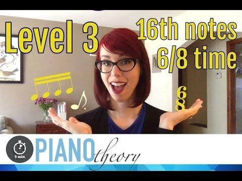 Level 3 Rhythm  |  5minPiano Theory Lesson