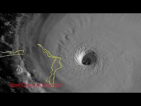 Hurricane Dorian Hitting