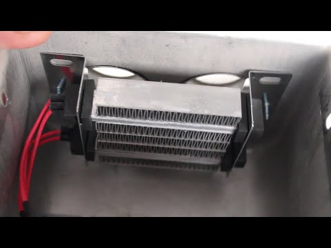 Электропечка для электромобиля из Китая. Обзор электробогревателя для автомобиля с Taobao.