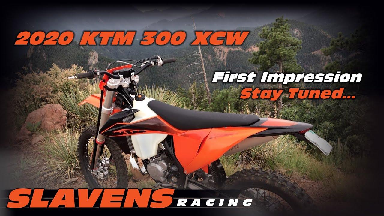 2020 KTM 300 XCW - First Impression - Slavens Racing