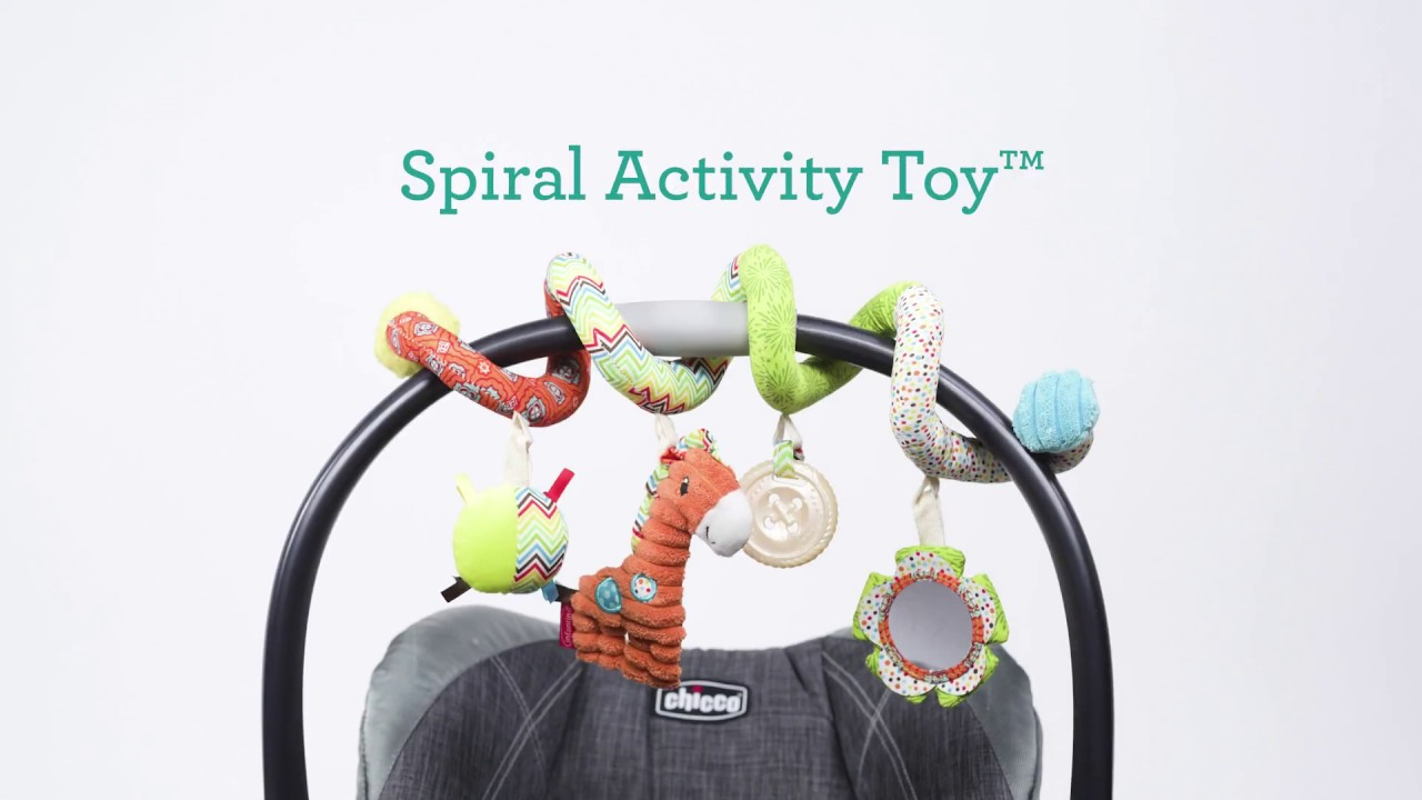 Infantino Spiral Car Seat Activity Toy Go Gaga Collection