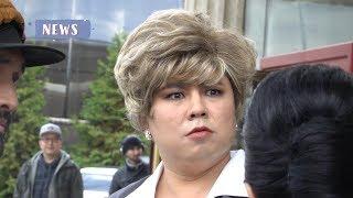Нуртас Адамбай вновь в женском облике!