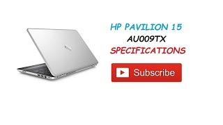 NEW HP PAVILION 15 AU009TX