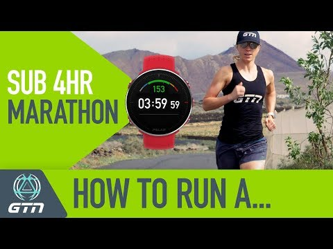 How To Run A Sub 4 Hour Marathon Race! | Running Training & Tips