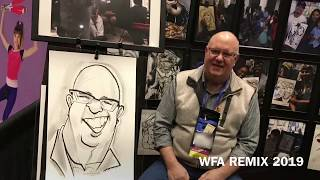The Caricature Entertainment: WFA 2019, Drawing Karl