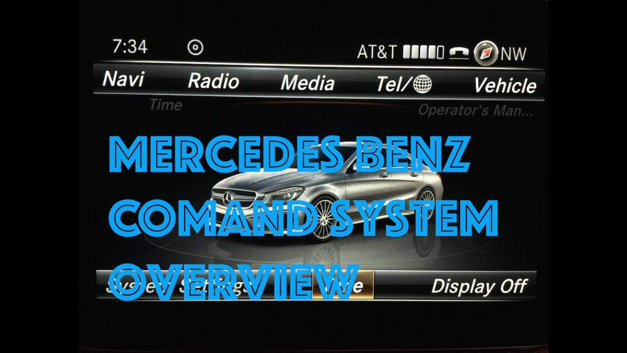 mercedes comand system overview review of 2015 mercedes comand system youtube. Black Bedroom Furniture Sets. Home Design Ideas
