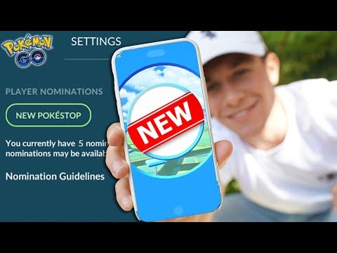 YOU CAN NOW CREATE YOUR OWN POKÉSTOPS IN POKÉMON GO!