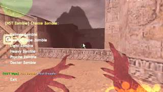 Counter-Strike Extreme V6-Zombie Mode 3 Gameplay