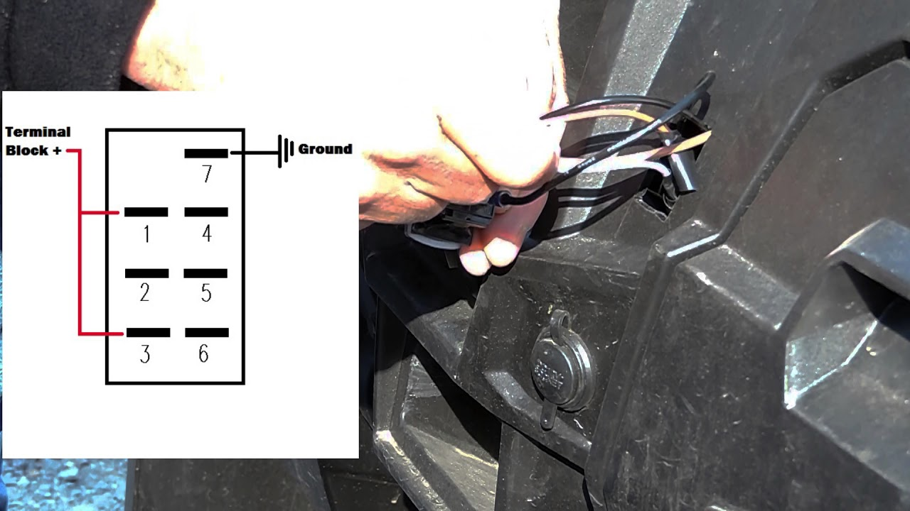 Mictuning Winch Switch Install Youtube Diagram Further Warn Atv Wiring On Badland Wire