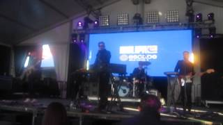 M.C.H.T.E - Tesla Boy Live At SMF in Governos Island Oct 12 2014