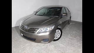 Automatic Cars. 4cyl Sedan Toyota Camry Altise 2009 Review For Sale