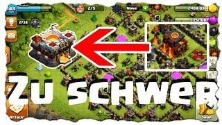 ALLES ZU SCHWER - RH10 AUF RH11 | Clash of Clans Deutsch | Let´s Play COC
