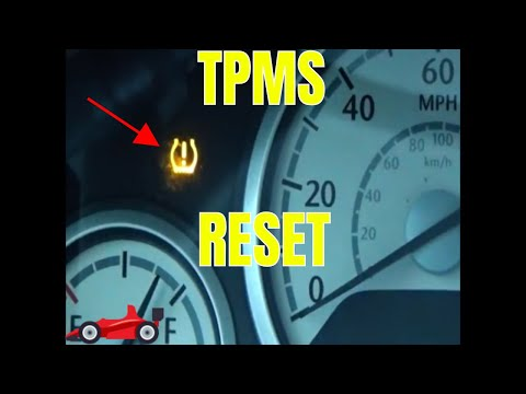How To Reset The TPMS Dash Light