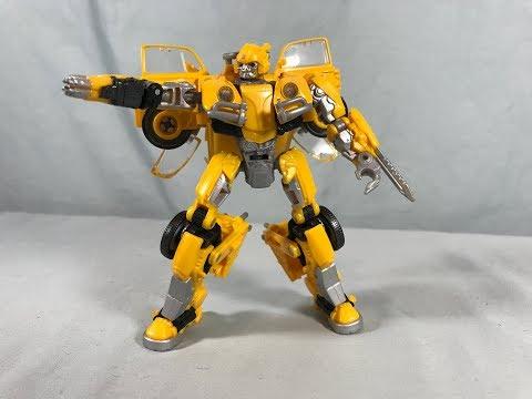 Transformers Studio Series 18 Deluxe Class Bumblebee (VW Beetle) Review