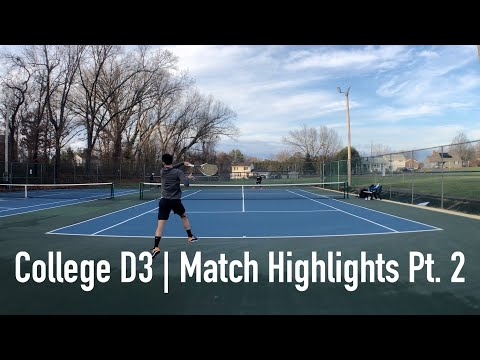Match play Highlights vs D3 college player Part 2!