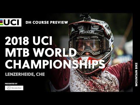 2018 UCI Mountain Bike World Championships - Lenzerheide (CHE) / DH Course Preview