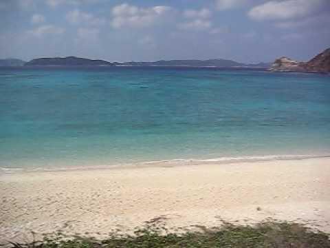 トカシクビーチを一望する場所から
