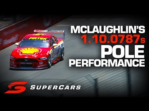 ONBOARD: Scott McLaughlin claims Saturday Pole Position Gold Coast 600 | Supercars Championship 2019