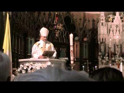Mass - St. Patrick Basilica - Homily - Bishop Fabbro