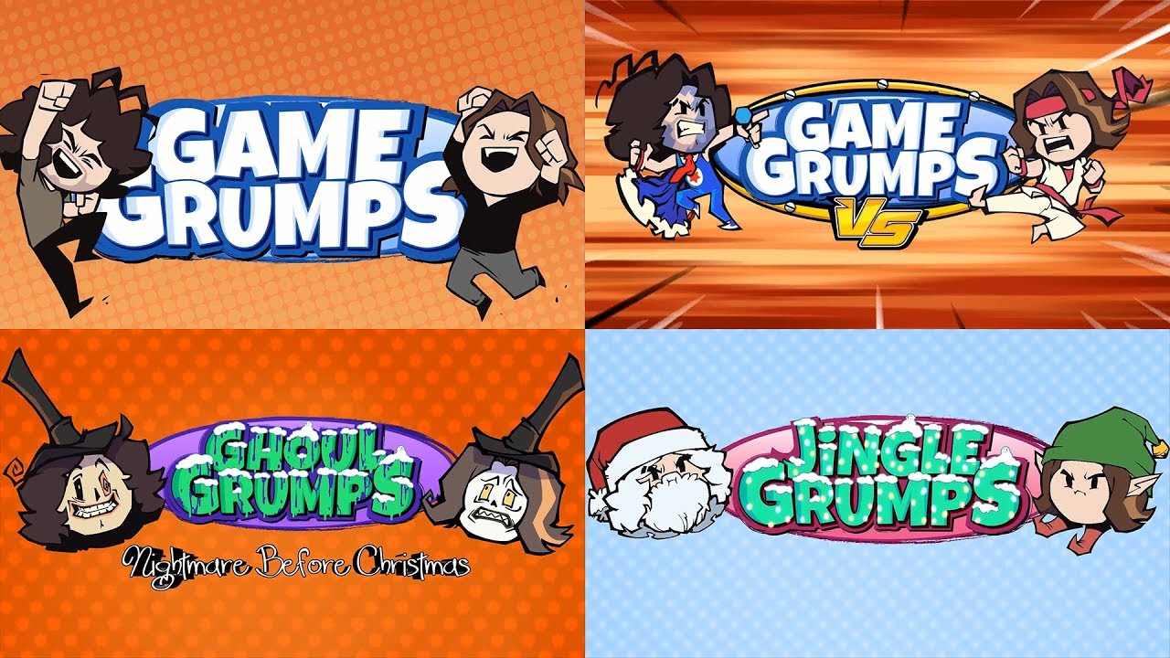 All of the Game Grumps intros (As of April 24, 2019)