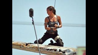 Tomb Raider Лара Крофт - Как снимали фильм