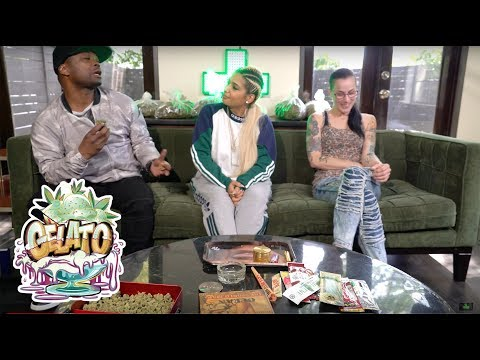 WEED REVIEW - INDICA SATIVA & GELATO