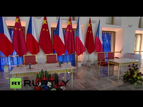 LIVE: Xi Jinping and Czech president Zeman hold joint press conference