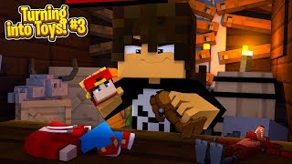 Minecraft TOYS #3 - CAN ROPO ESCAPE FROM THE BIG BROTHER BULLY!!!