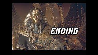 Assassin's Creed Origins Curse of the Pharaohs Walkthrough Part 14 - ENDING + FINAL BOSS