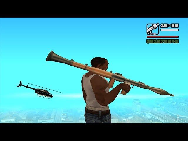 GTA San Andreas Top 10 Cheats